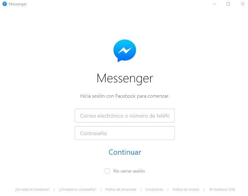 Messenger for Desktop image 4