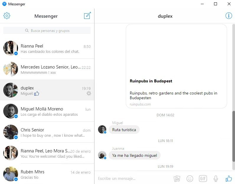 facebook messenger free download for pc windows 8