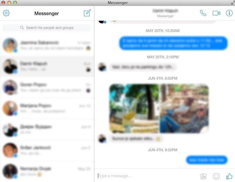 Messenger for Desktop 3 0 8 - Download for Mac Free