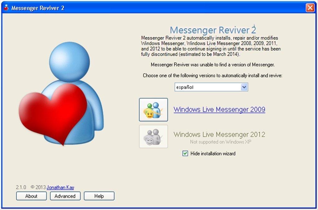Messenger Reviver image 2