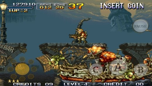 metal slug per iphone gratis