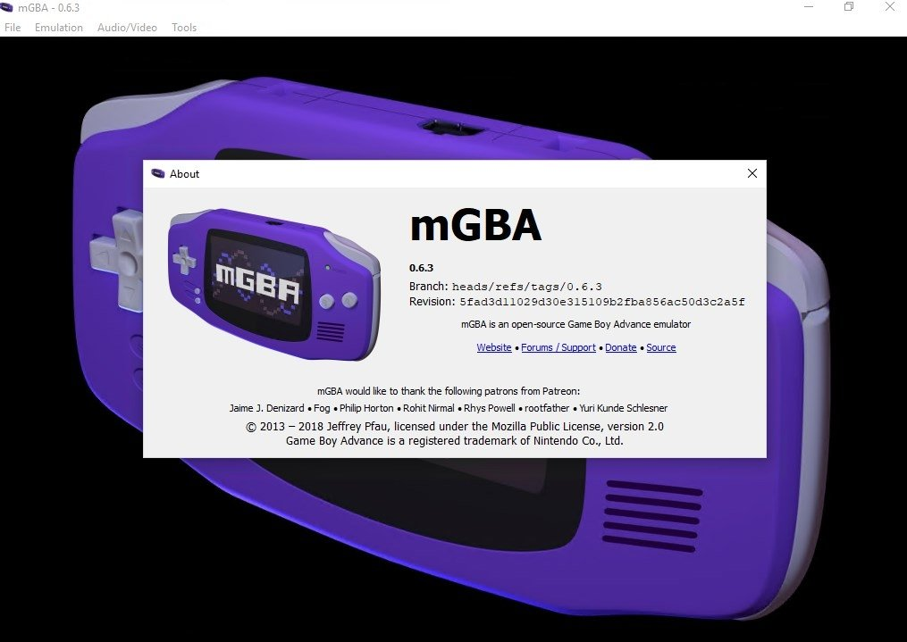 mGBA 0 7 1 - Download for PC Free