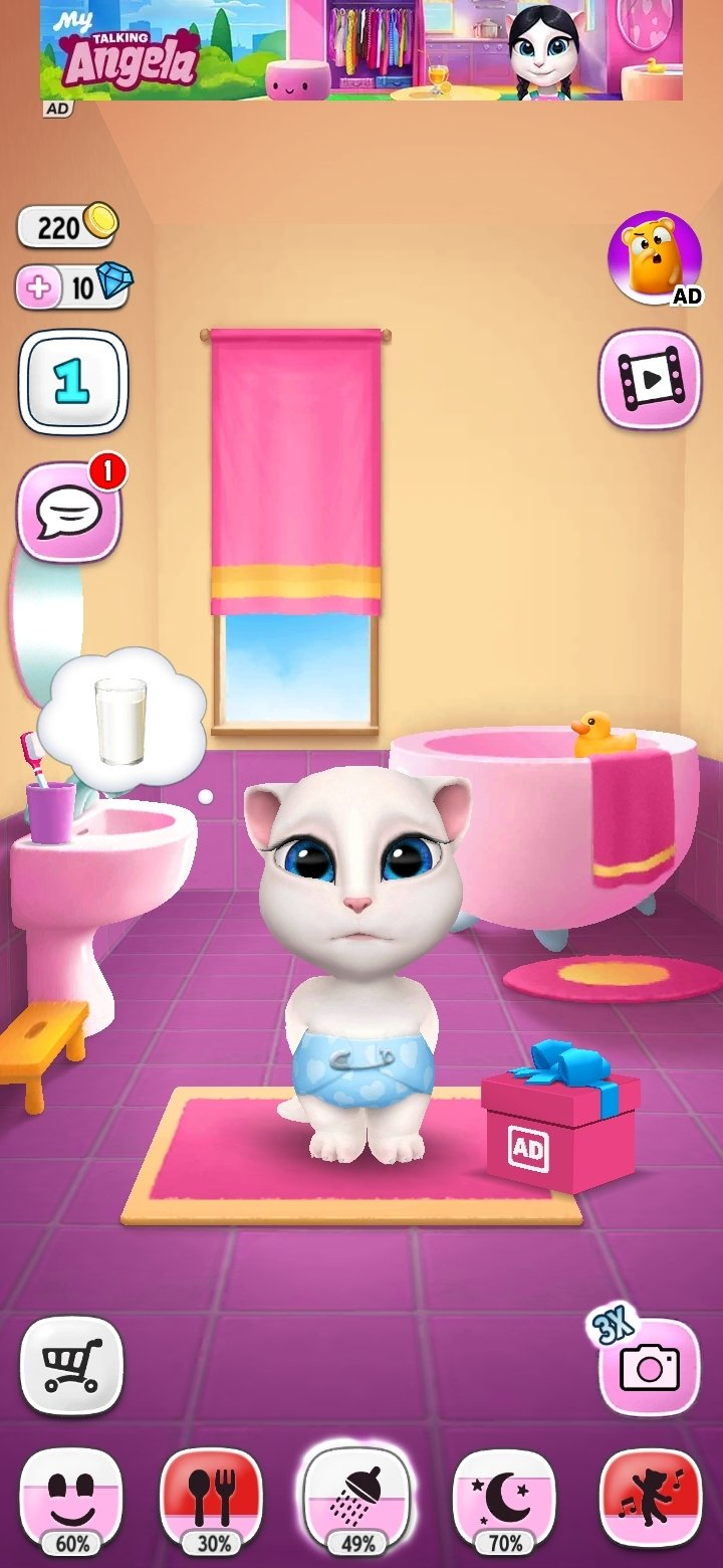 My Talking Angela Android image 8