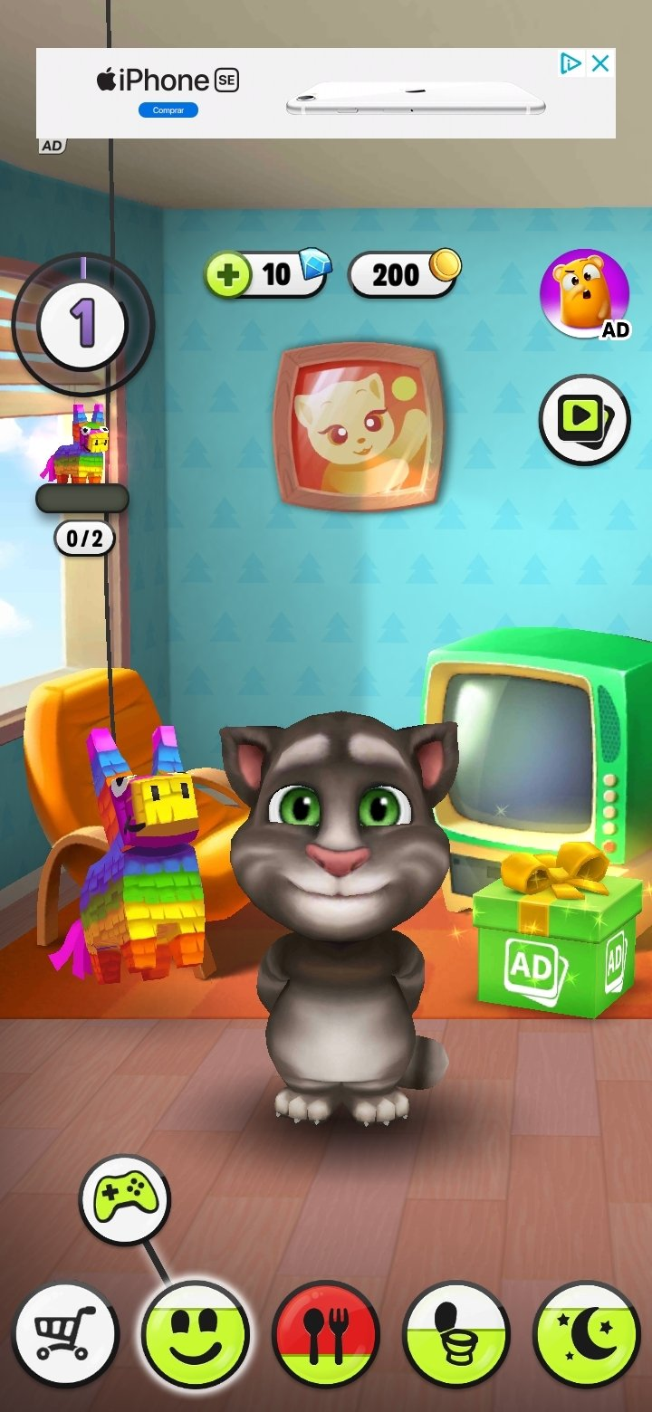 Descargar mi talking tom 4 7 android apk gratis en - My talking tom pictures ...