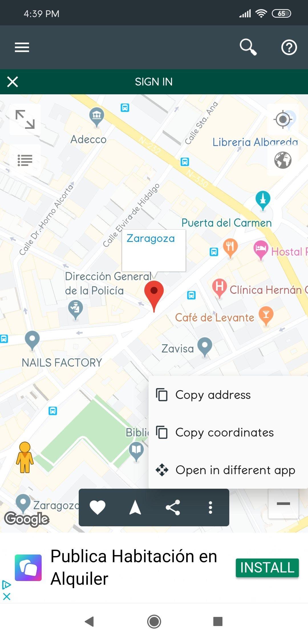 Mi ubicación 2.970 - Descargar para Android APK Gratis