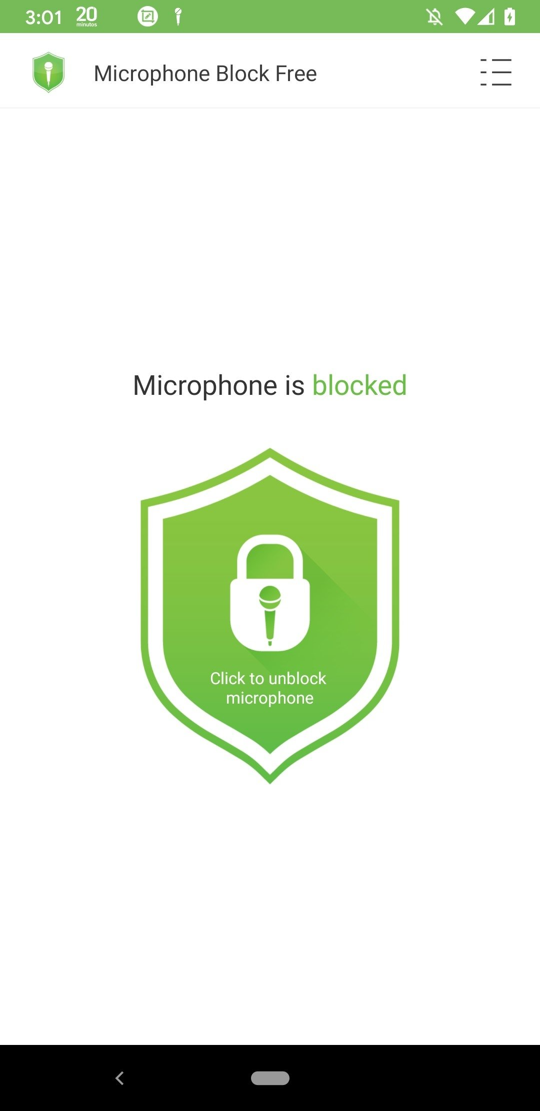 Mic Block Android image 3
