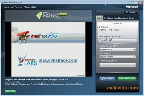 Microsoft Desktop Player image 4