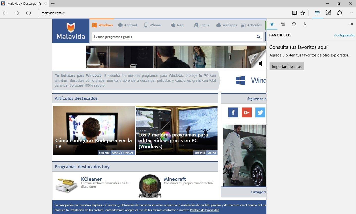 Download Microsoft Edge 41.16299.15.0 - Kostenlos auf Deutsch