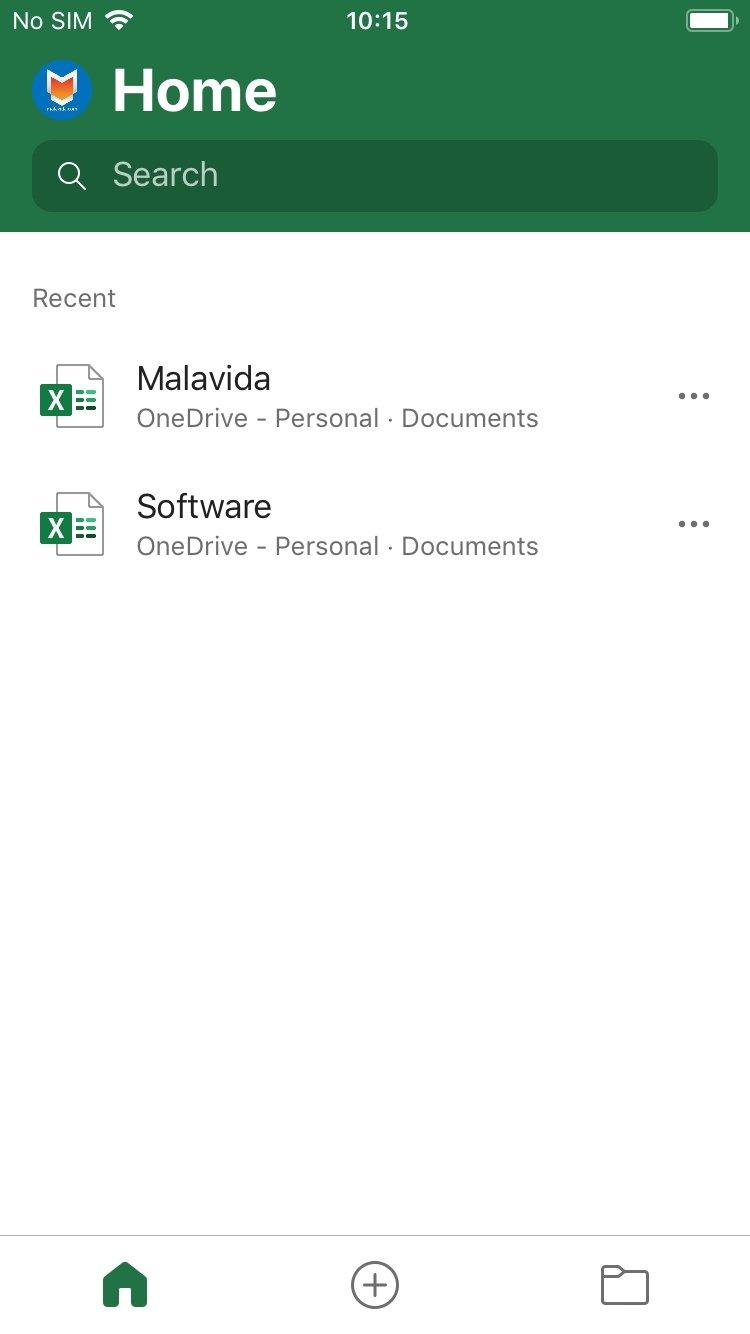 Microsoft Excel iPhone image 5