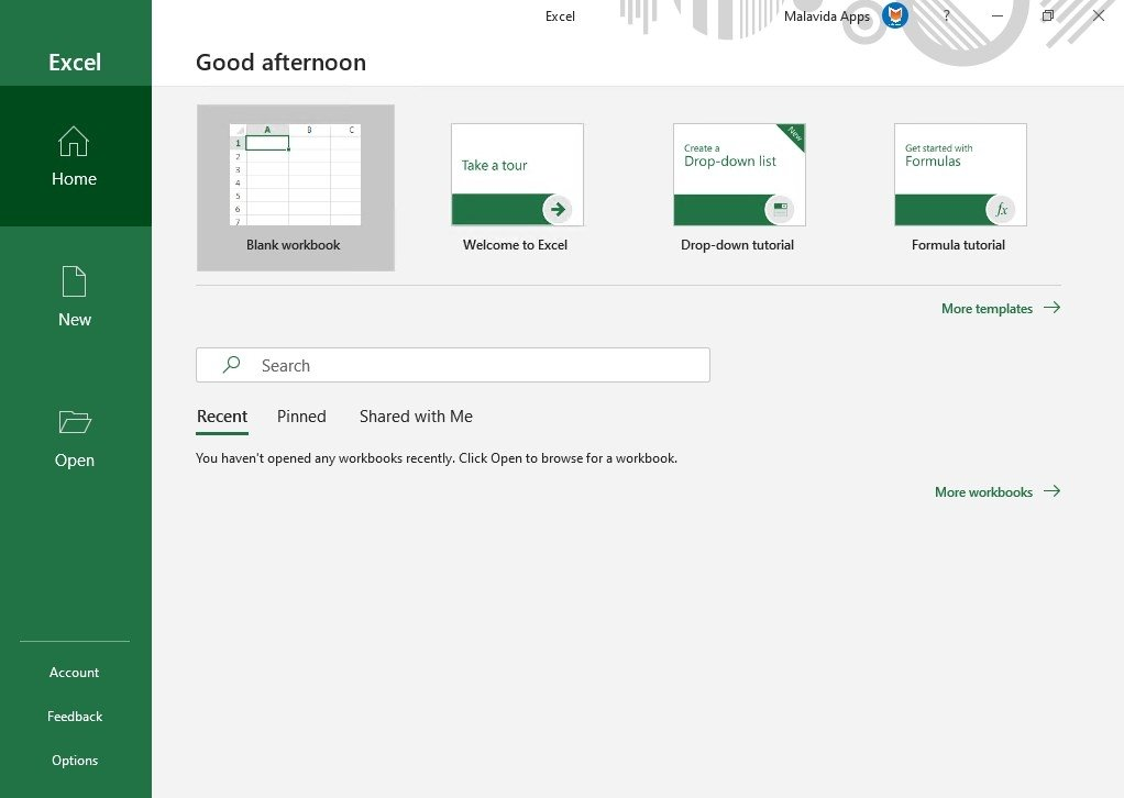 free office excel download