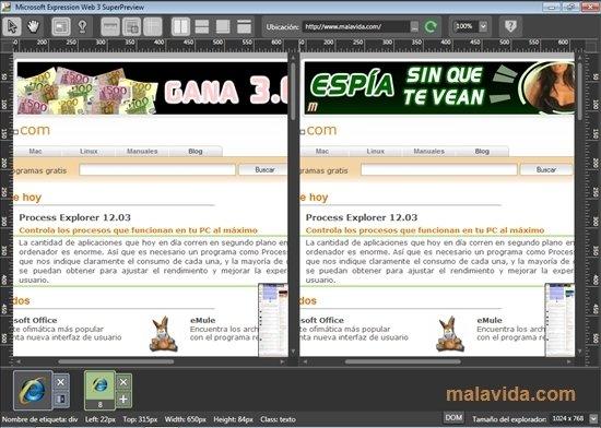 Microsoft Expression Web image 4