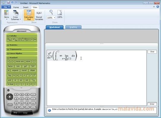 Microsoft Mathematics image 7