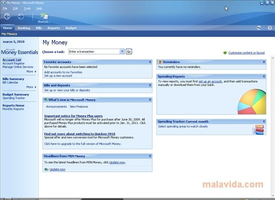 Microsoft Money 17.0.80.1415