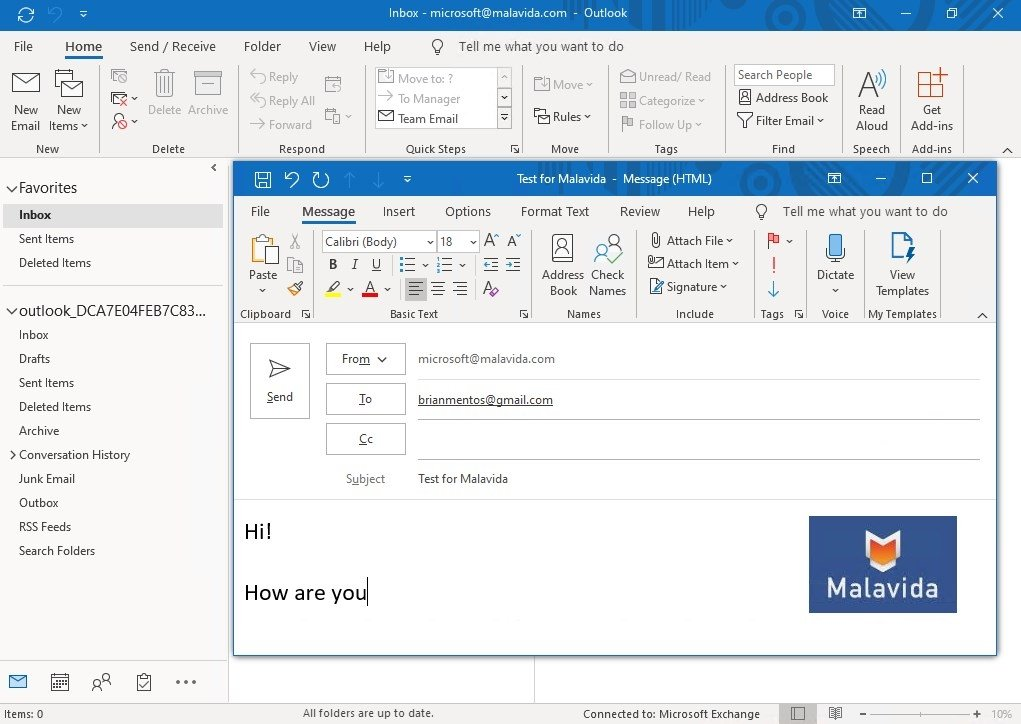 Outlook: Download Microsoft Outlook 2016 16.0.9226.2114