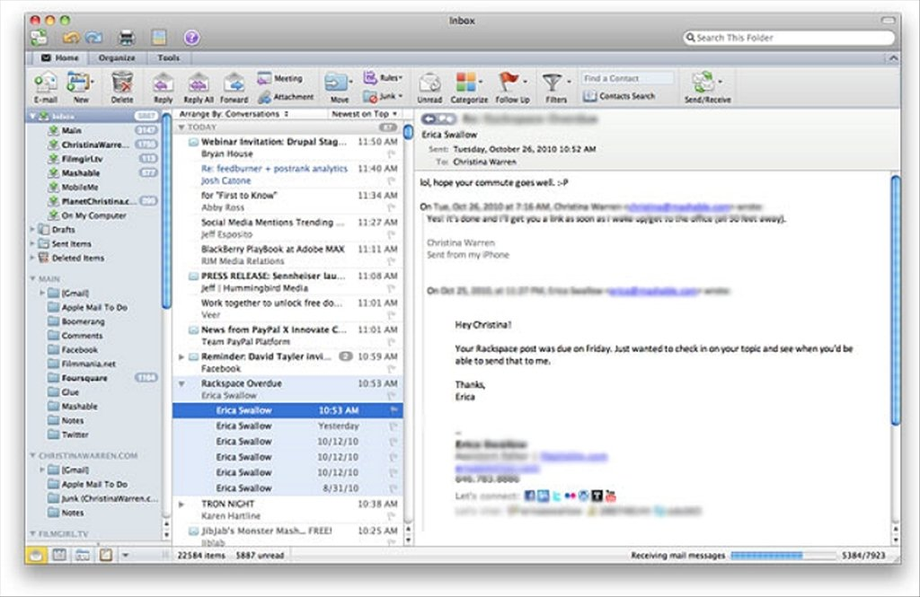 Microsoft Outlook 2016 - Download for Mac Free