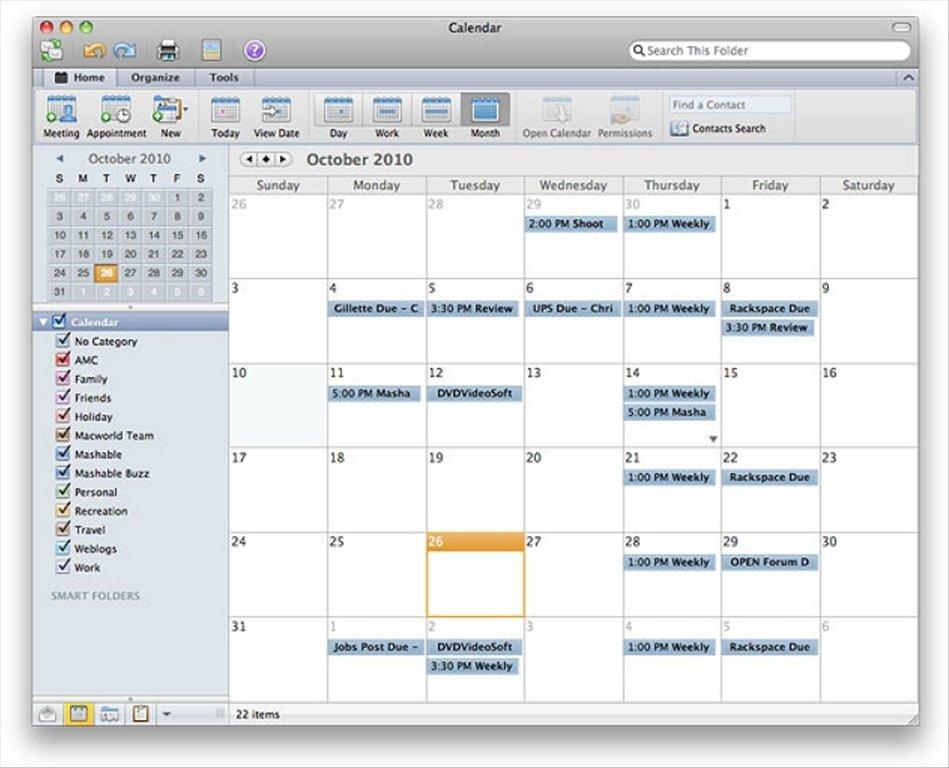 descargar outlook 2010 gratis para mac