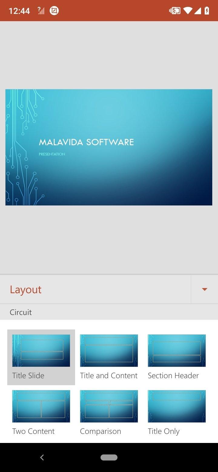 Программа презентация microsoft powerpoint на андроид