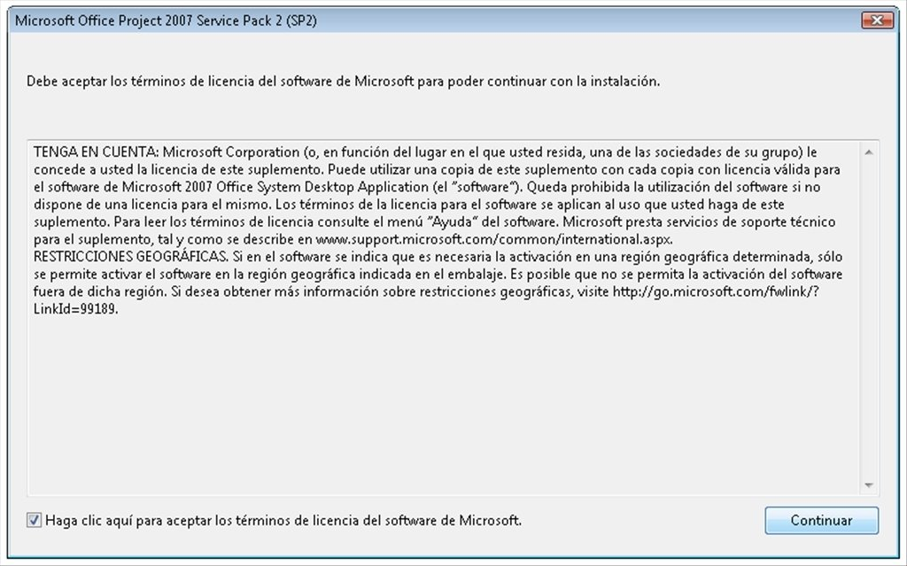 Microsoft Project 2007 SP2 image 3