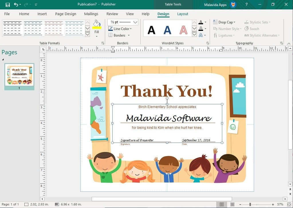 microsoft office publisher 2017 indir