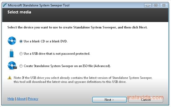 Microsoft Standalone System Sweeper image 4
