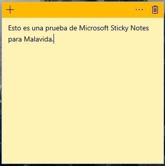 Microsoft Sticky Notes image 5