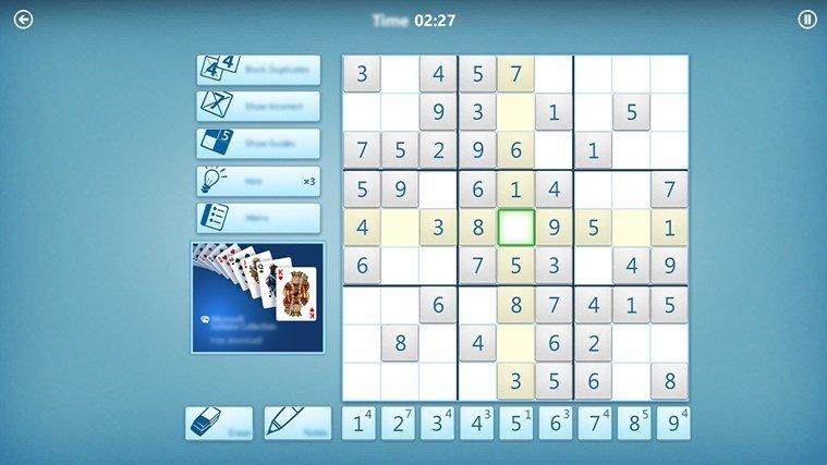 Microsoft Sudoku 17101900 Download For Pc Free
