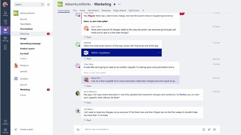 Microsoft Teams 32 bits 1.1.00.13555 - Download for PC Free