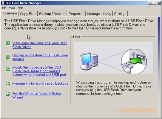 Microsoft USB Flash Drive Manager image 4