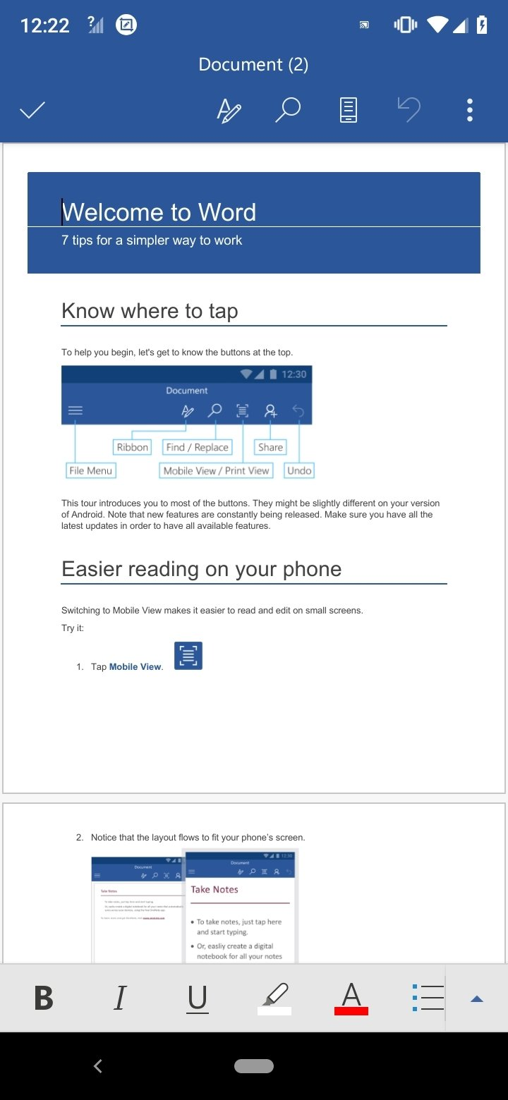 Microsoft Word 16.0.10827.20027 - Descargar para Android APK Gratis
