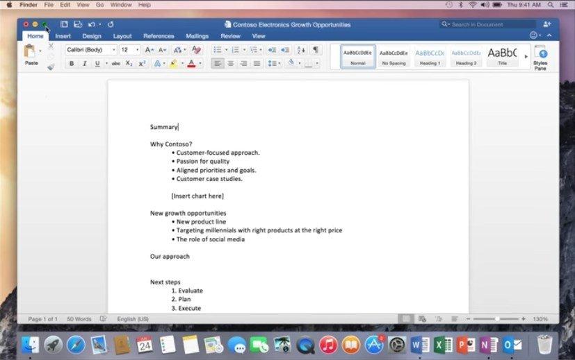 how to download powerpoint in macbook