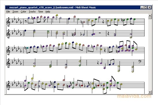 Midi Sheet Music image 3