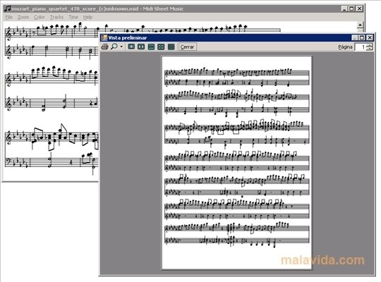 Midi Sheet Music 2 6 - Download for PC Free