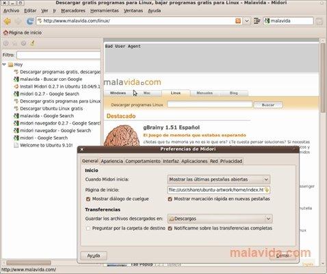 Midori Linux image 4