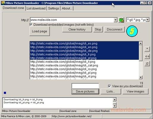 Mihov Picture Downloader image 4