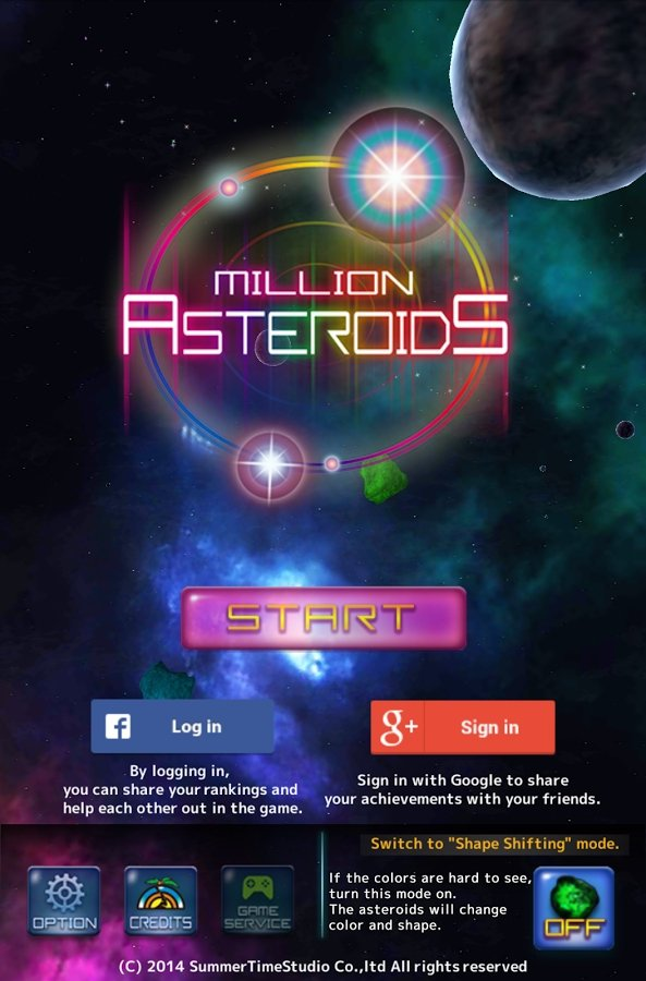 Million Asteroids Android image 4