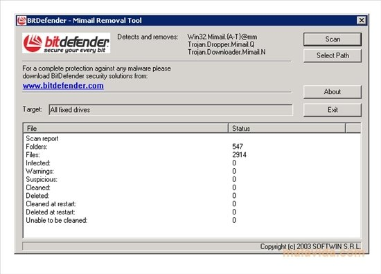 Mimail Removal Tool image 3