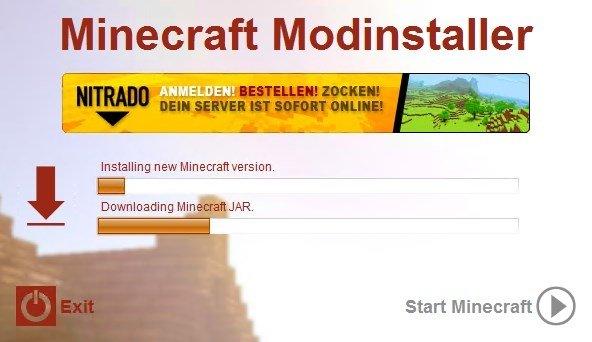 Minecraft Modinstaller Download Für PC Kostenlos - Minecraft server erstellen 1 8 nitrado