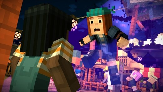 Minecraft: Story Mode iPhone image 5
