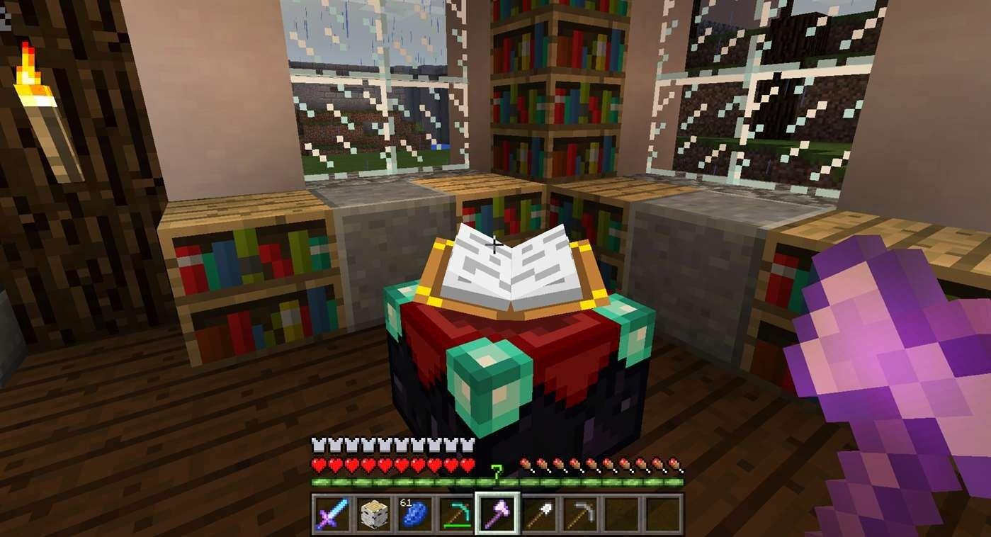 Dans Minecraft, le joueur est libre de choisir son but entre construire des bâtiments, concevoir des pièges, percer les secrets du jeu ou tout simplement survive.
