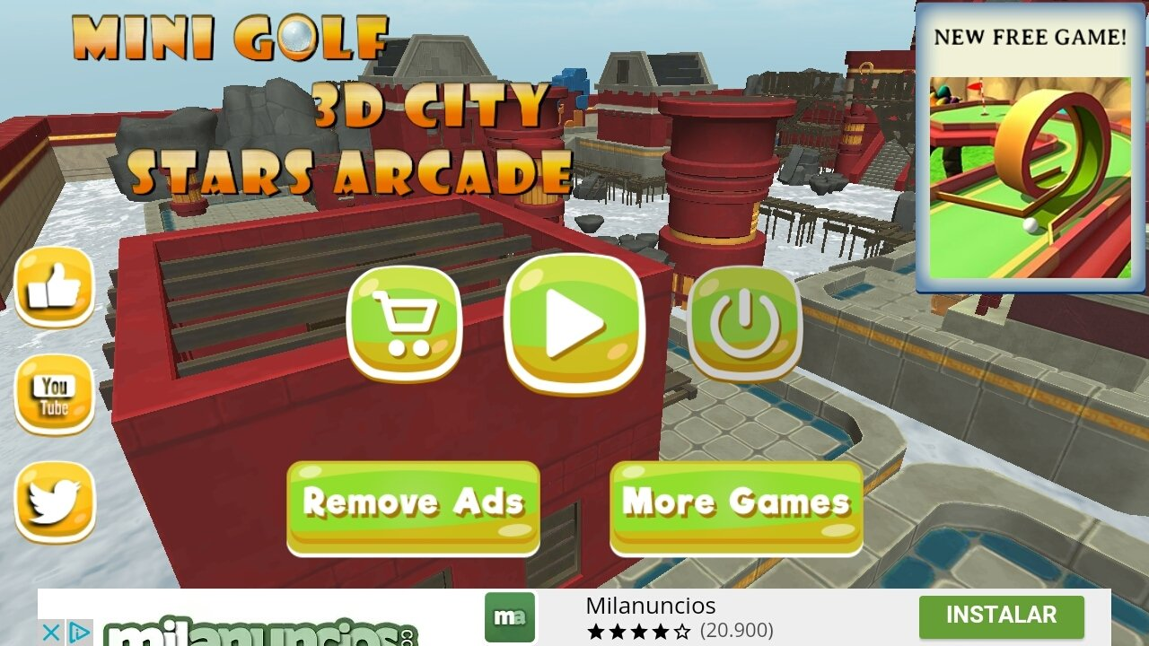 Mini Golf 3D City Stars Arcade Android image 6
