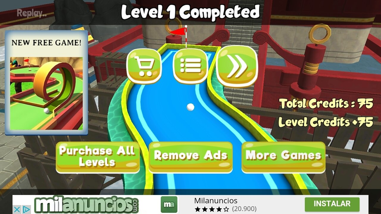 Mini Golf 3D City Stars Arcade 17 2 - Download for Android