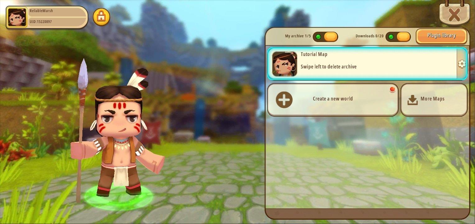 download game mini world block art mod apk data