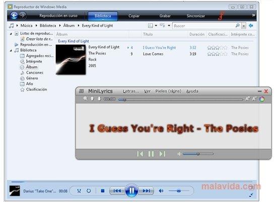 أحسن برنامج لعرض كلمات الأغاني لسنة 2011 بحجم صغير + سريال Minilyrics-6608-1