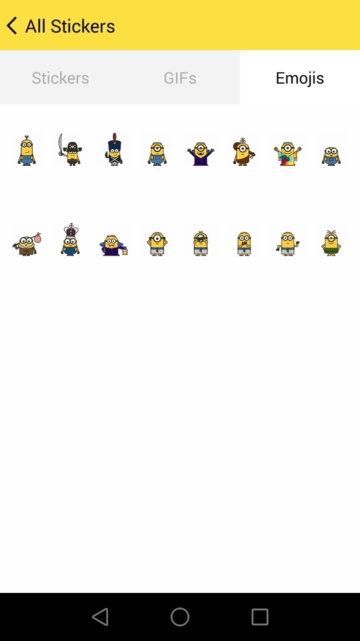 Minions Emoji 3 6 - Download for Android APK Free