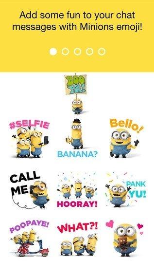 Minions Emoji iPhone image 4