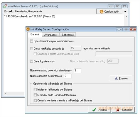 miniRelay 0 9 77d - Download for PC Free