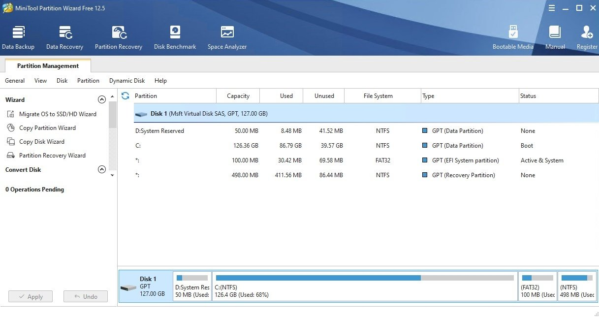 MiniTool Partition Wizard image 8