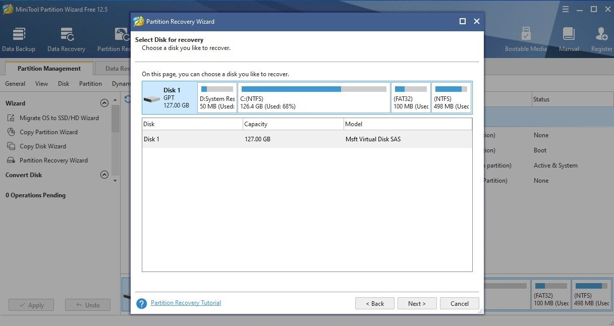 MiniTool Partition Wizard Free 11 4 - Download for PC Free
