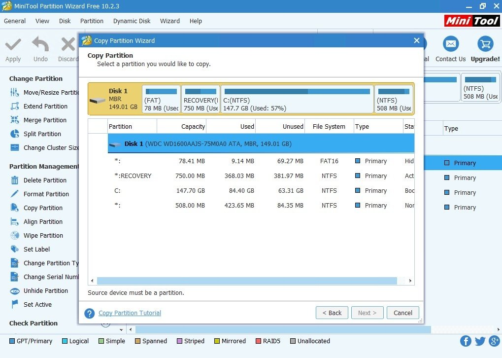 free download minitool partition wizard full version