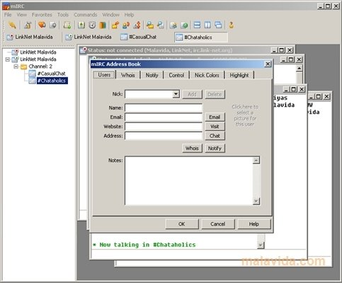 mIRC 7 57 - Download for PC Free
